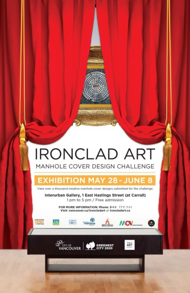Ironclad Art Manhole Design Challege Exhibition