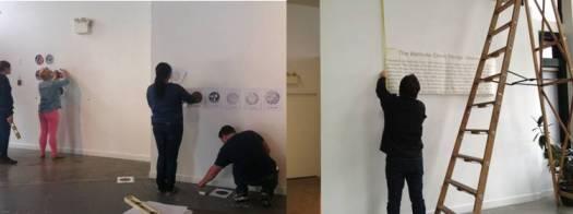 Culture - Public Art - Civic - Ironclad Art - images - Exhibition - installation strip