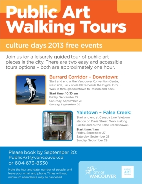 public art walking tour