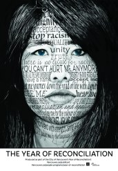 Culture - TSA Transit Shelter – 2014 - 03 - MARCH - civic - Public Art – Platforms - Reconciliation - Jeannette Sirois - poster 3 of 4