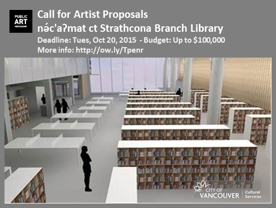 2015 Call For Artists - Strathcona Library