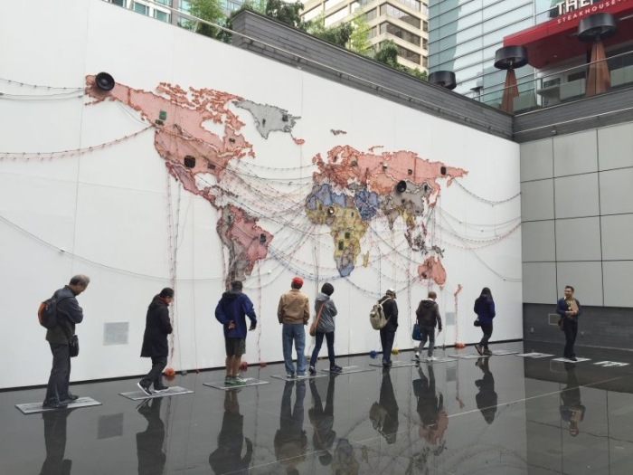 photo by Vincent Chik (photo taken on Burrard Corridor –Downtown tour at Offsite)