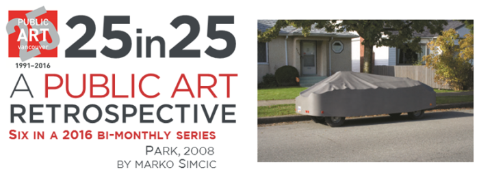 Culture - Public Art - 25th Anniversary - 25in25 series - 06 - MAR - Park - Marko Simcic - title image - png