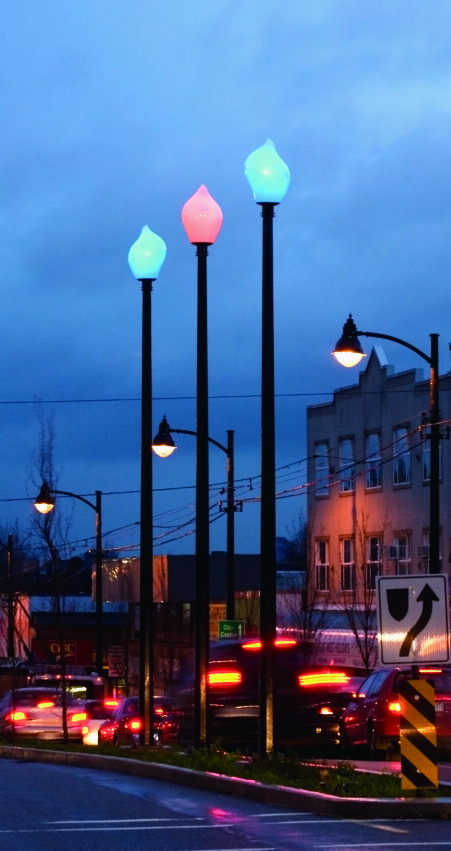 """Kingsway Luminaires"", 2009. Photo: Scott Massey"