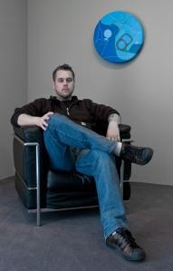 Portrait of the Artist, Sonny Assu. Photo courtesy of the artist.