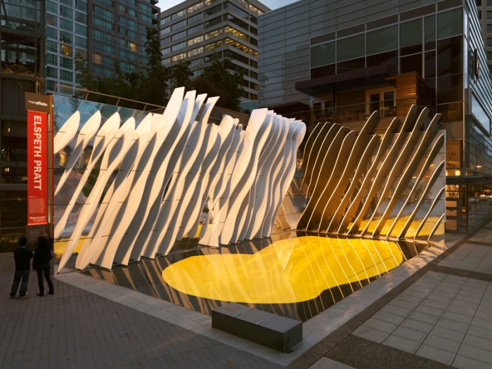 """Second Date"" by Elspeth Pratt - Photo Rachel Topham, Vancouver Art Gallery"