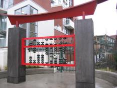 Gwen Boyle, Abacus (Suan Phan), 2005, photo credit City of Vancouver