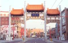 Joe Y Wai, Chinatown Millennium Gate, 2002, photo credit City of Vancouver